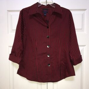 WRINKLE FREE STRIPED CUTE & COMFORTABLE TOP